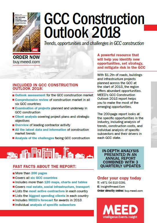 MENA Construction flyer